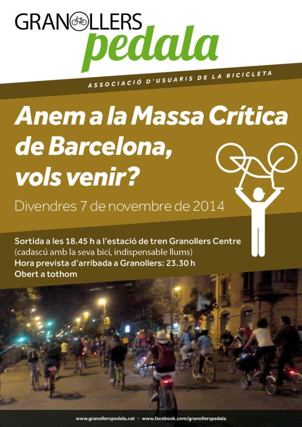 GRANOLLERS PEDALA cartell 01