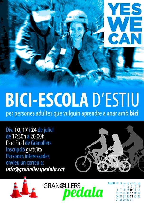 CARTELL BICI-ESCOLA 02