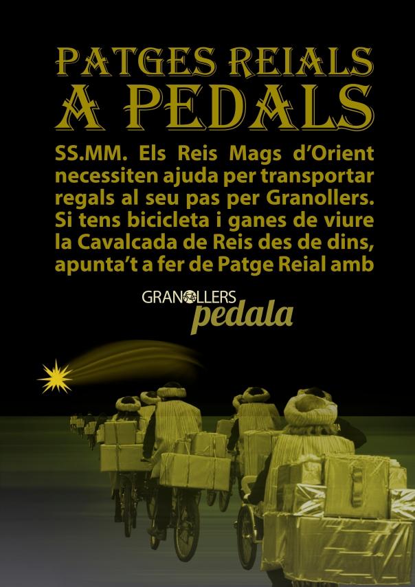Patges Reials a Pedals