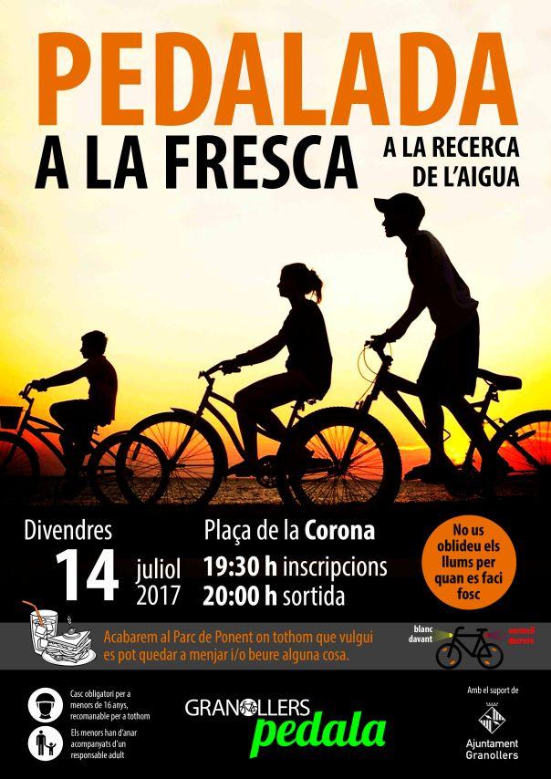 CARTELL PEDALADA A LA FRESCA 2017 baixa