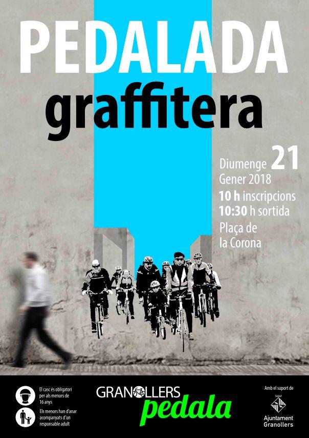 PEDALADA GRAFFITERA 2018 cartell 01 baixa
