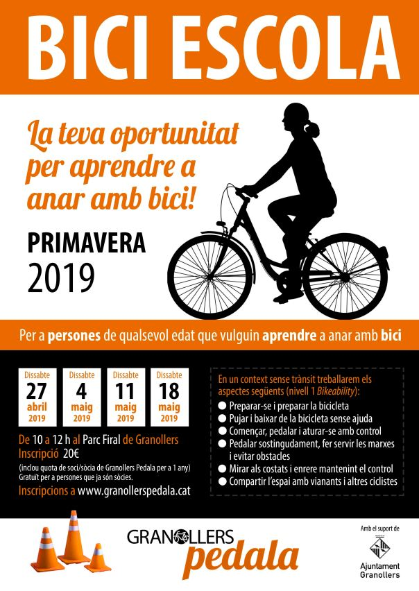 BICI-ESCOLA PRIMAVERA 2019 baixa