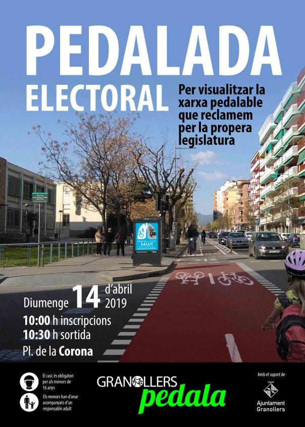 CARTELL PEDALADA ELECTORAL 2018 baixa