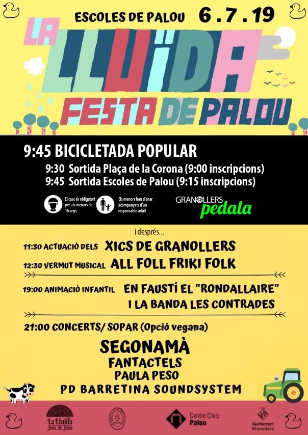 CARTELL PEDALADA PALOU 05