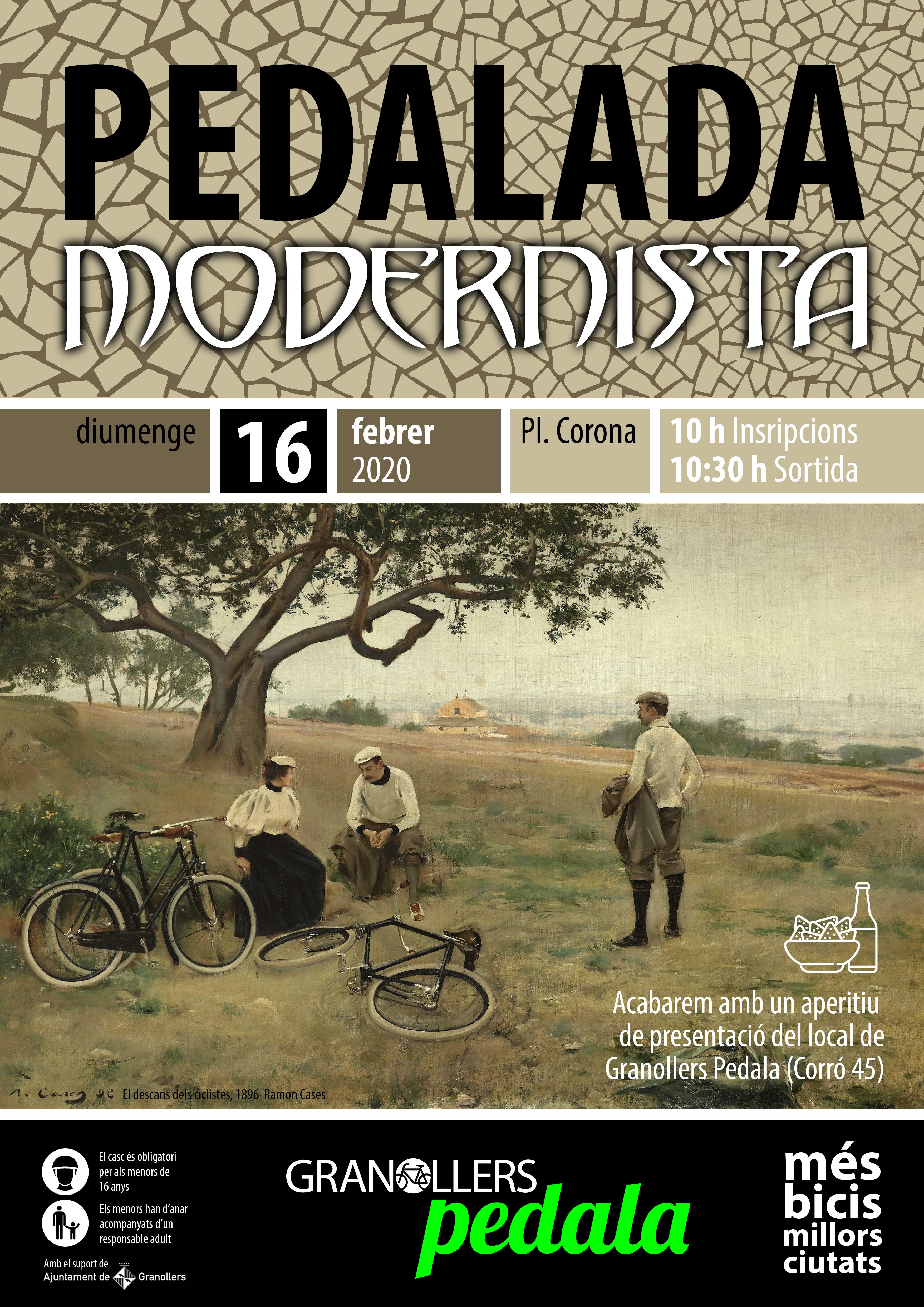 CARTELL PEDALADA MODERNISTA 2020 08 baixa